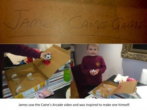 James Caines Arcade game